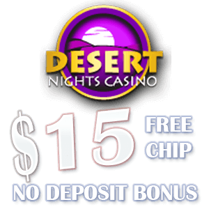 Special promotion at Desert Nights Casino