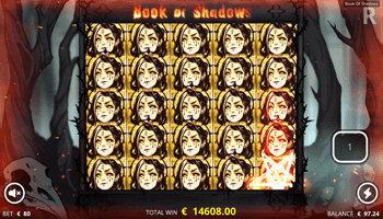 Book of Shadows relplay screenshot of big win